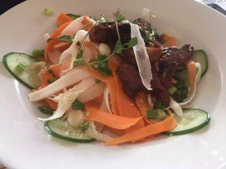 St George & Dragon Wargrave Gastropub Menu Girl's Lunch Henley Regatta Duck Salad