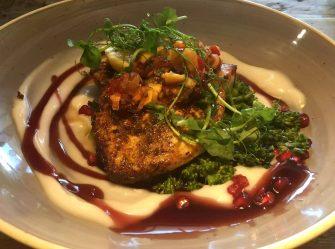 St George & Dragon Wargrave Gastropub Menu Girl's Lunch Henley Regatta Swordfish Mango Salsa