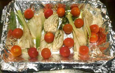 Pan Fried Sea Bream in a Lemon Caper Butter Sauce - Fennel Tomatoes Green Beans SCD Paleo Grain-Free Gluten-Free Clean Eating