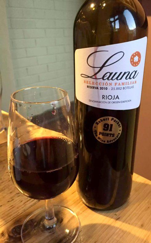 Great Northern Wine Tasting Food Pairing St Albans Launa Rioja Reserva