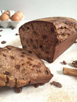 Cinnamon Raisin Bread by Emma Eats & Explores - Grain-Free, Gluten-Free, Refined Sugar-Free, Paleo, SCD, Specific Carbohydrate Diet, Vegetarian and Primal