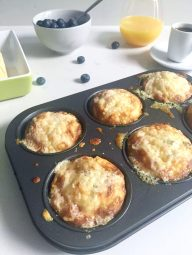Cheesy Courgette Frittata Muffins (Zucchini) by Emma Eats & Explores - Grain-free, Gluten-free, Low Carb, LCHF, Paleo, SCD, Vegetarian, Refined Sugar-free