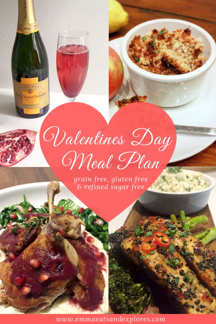 Valentine's Day Menu – A Romantic Dinner for Two