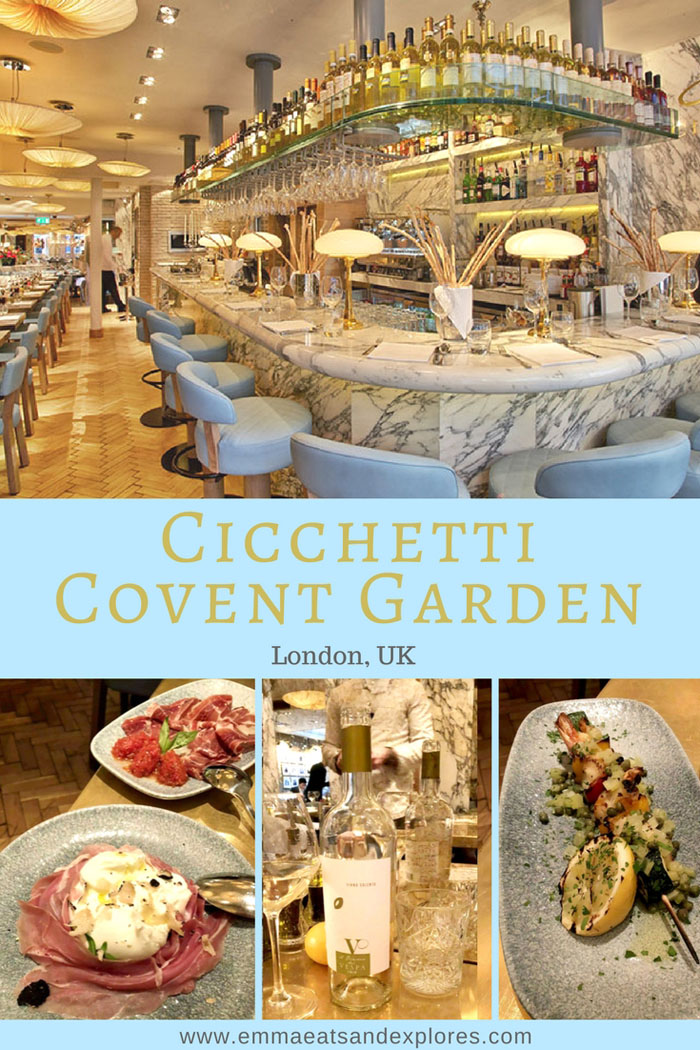 Cicchetti Covent Garden – London, UK