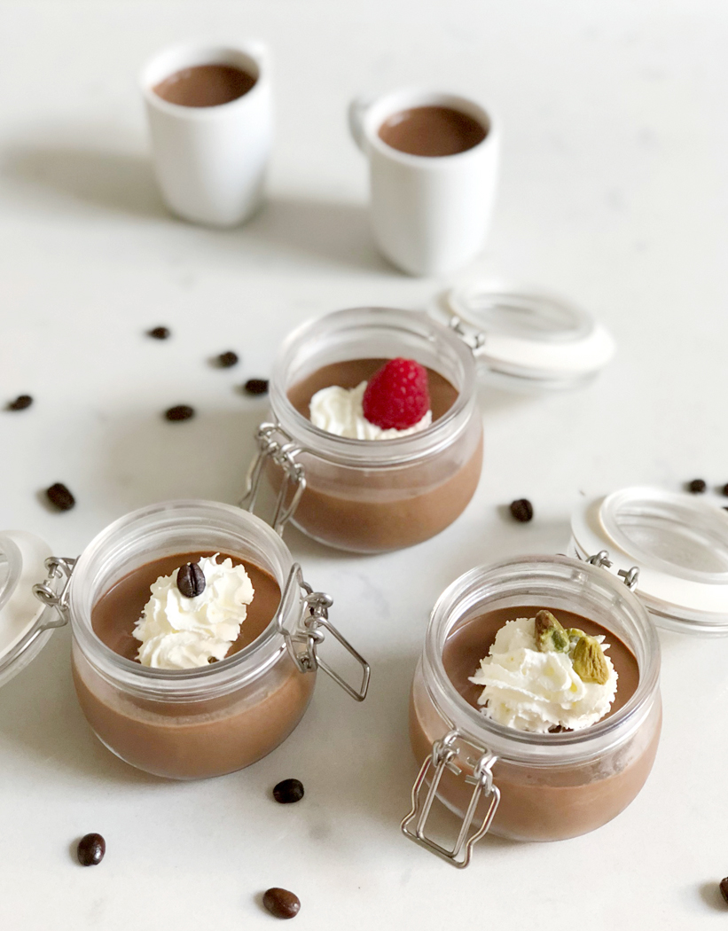 Chocolate Espresso Pots with TASSIMO My Way Brewer
