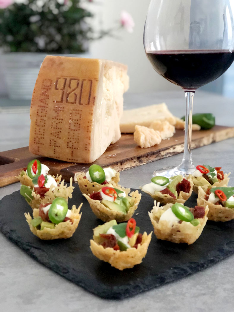Parmigiano Reggiano – Nacho Cups & Cheesy Blinis – Festive Canapés