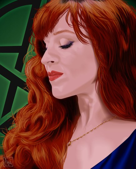Celebrity Vector - Ruth Connell