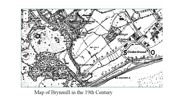 Map of Brynmill