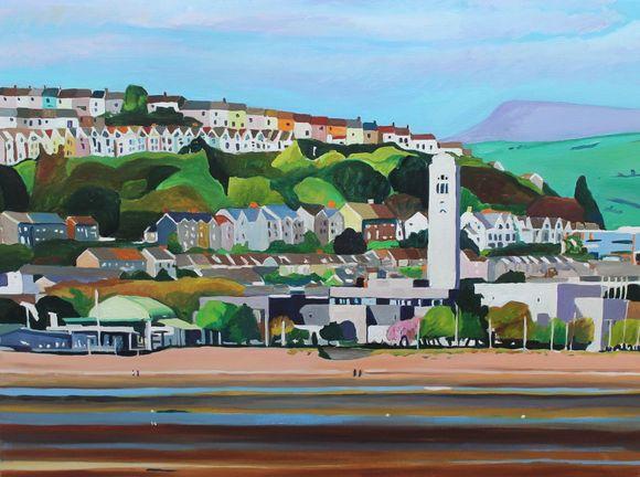 Across Swansea Bay