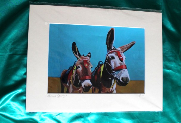 Donket and Son Print