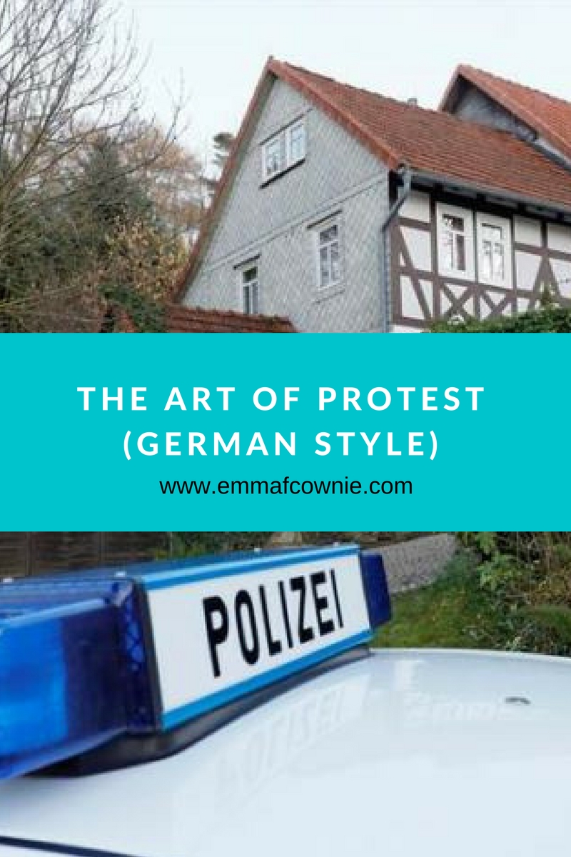 Art of Protest (German Style)