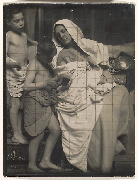 Sir Frank William Brangwyn (British (born Belgium), Bruges 1867–1956 Ditchling, Sussex) [Study for Missouri State Capitol Murals], ca.1914 Gelatin silver print with graphite; Image: 21.4 × 16.4 cm (8 7/16 × 6 7/16 in.) The Metropolitan Museum of Art, New York, Twentieth-Century Photography Fund, 2013 (2013.269) http://www.metmuseum.org/Collections/search-the-collections/307068