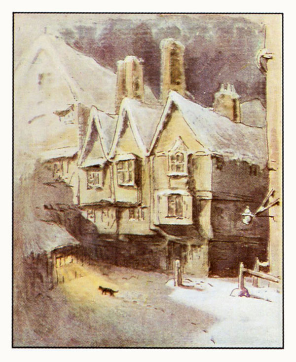 Simpkin-in-the-snow-illustration-from-The-Tailor-of-Gloucester-The-Complete-Tales-of-Beatrix-Potter-F.-Warne-Co-1989