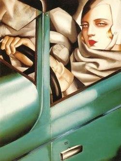 Tamara_de_Lempicka,_Autoportrait_(Tamara_in_a_Green_Bugatti).jpeg