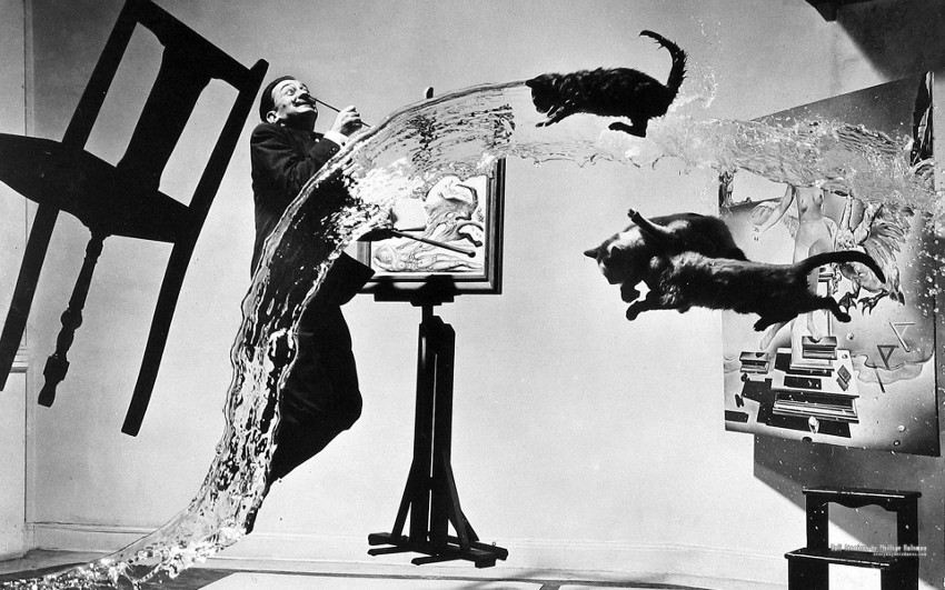 Salvador-Dali-Dali-Atomicus-1948-by-the-photographer-Philippe-Halsman