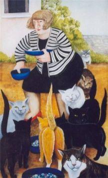bc15c62b2c5a76ba18f86bc6af15c737--stray-cats-dog-art