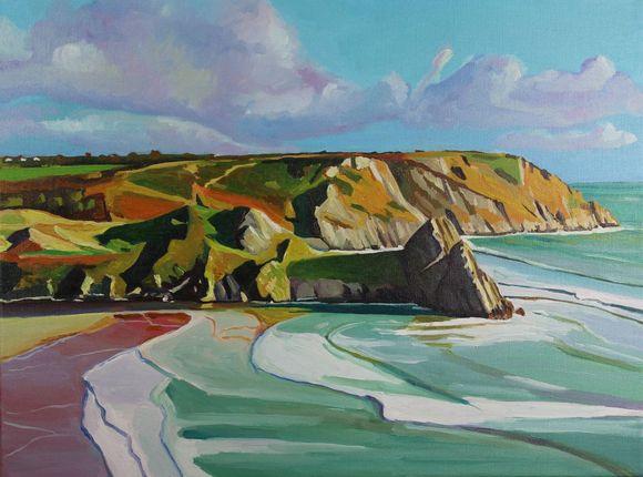 Coloured Sands at Three Cliffs.jpg
