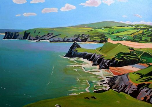 Pobbles and Three Cliffs