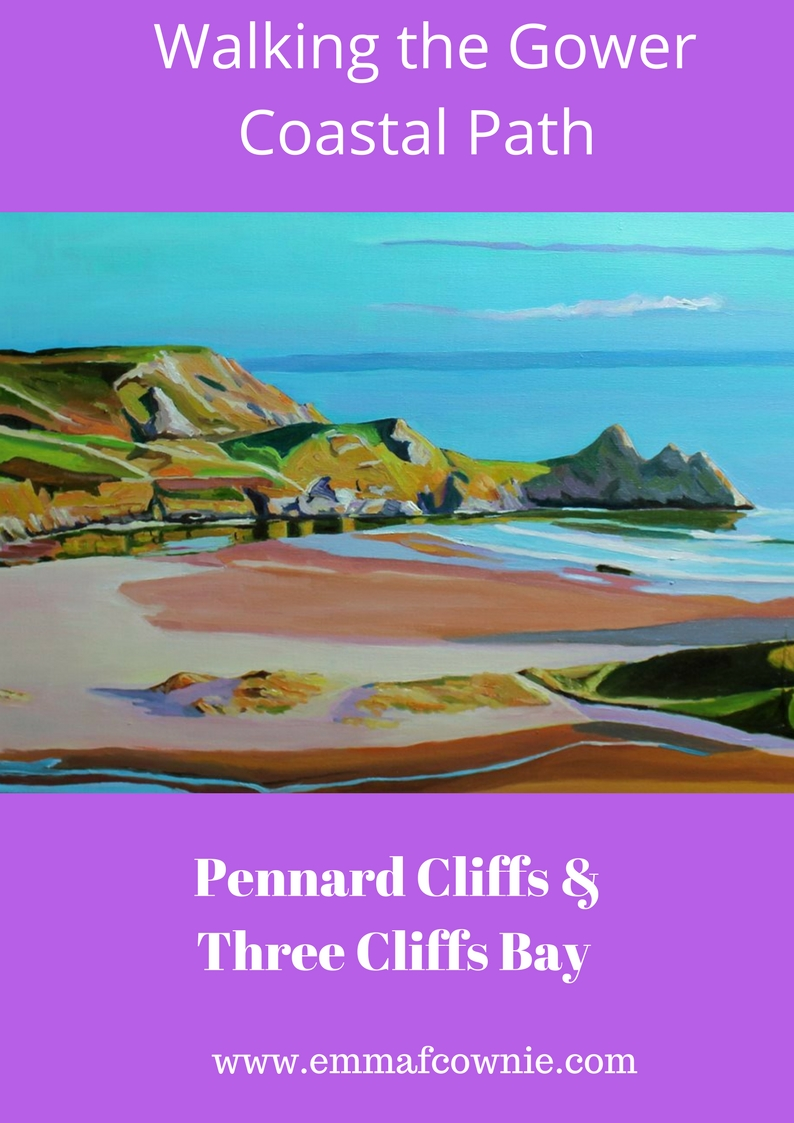 Pennard Cliffs & Three Cliffs Bay
