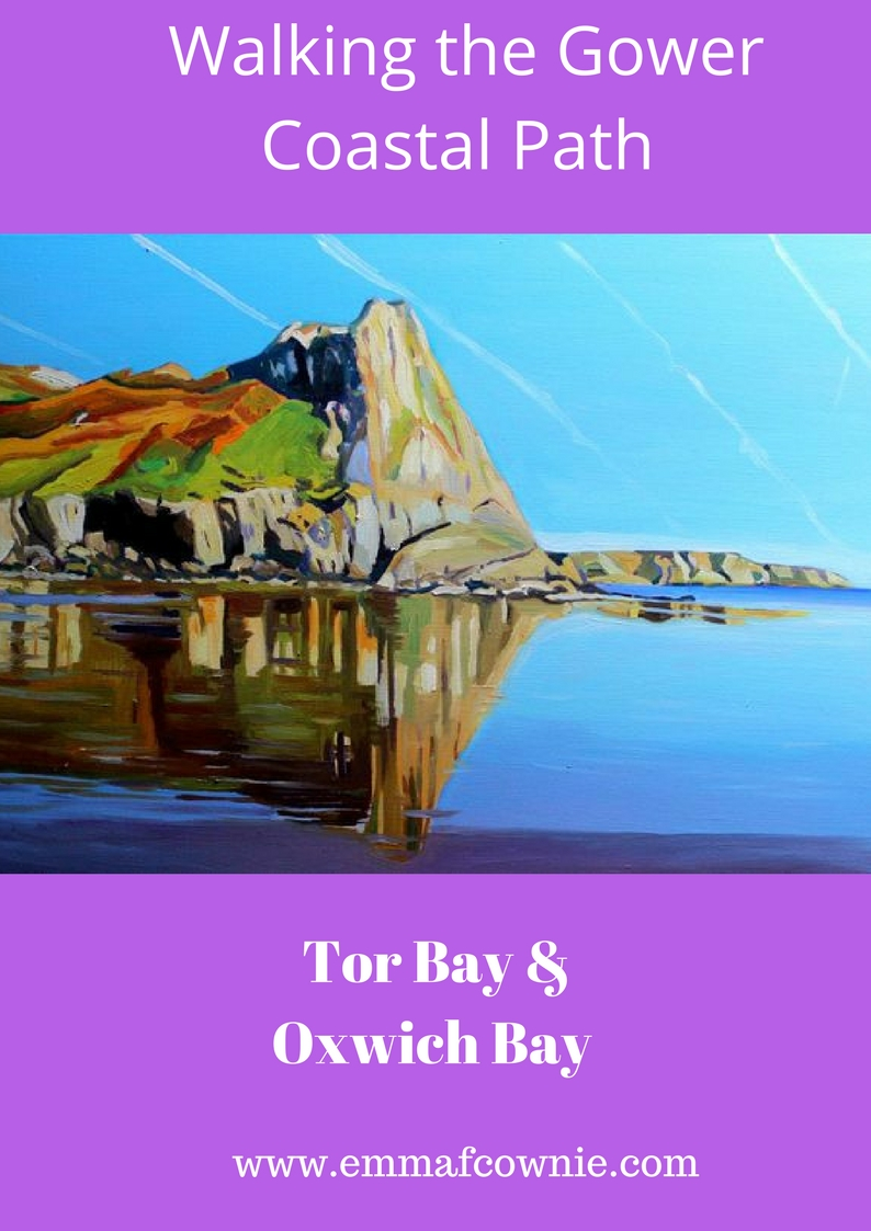 Gower Coastal Walk: Tor Bay & Oxwich Bay