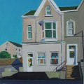 Painting of House in Brynmill, Swansea