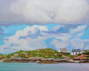 Donegal Cottages on an Island, Emma Cownie