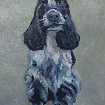 Painting of Cocker Spaniel Commissioned