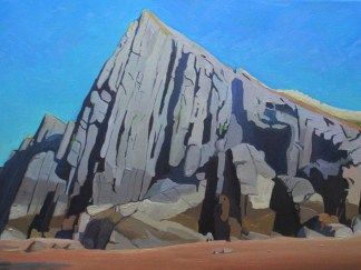 Painting of Gower, Three Cliffs Bay_EmmaCownie