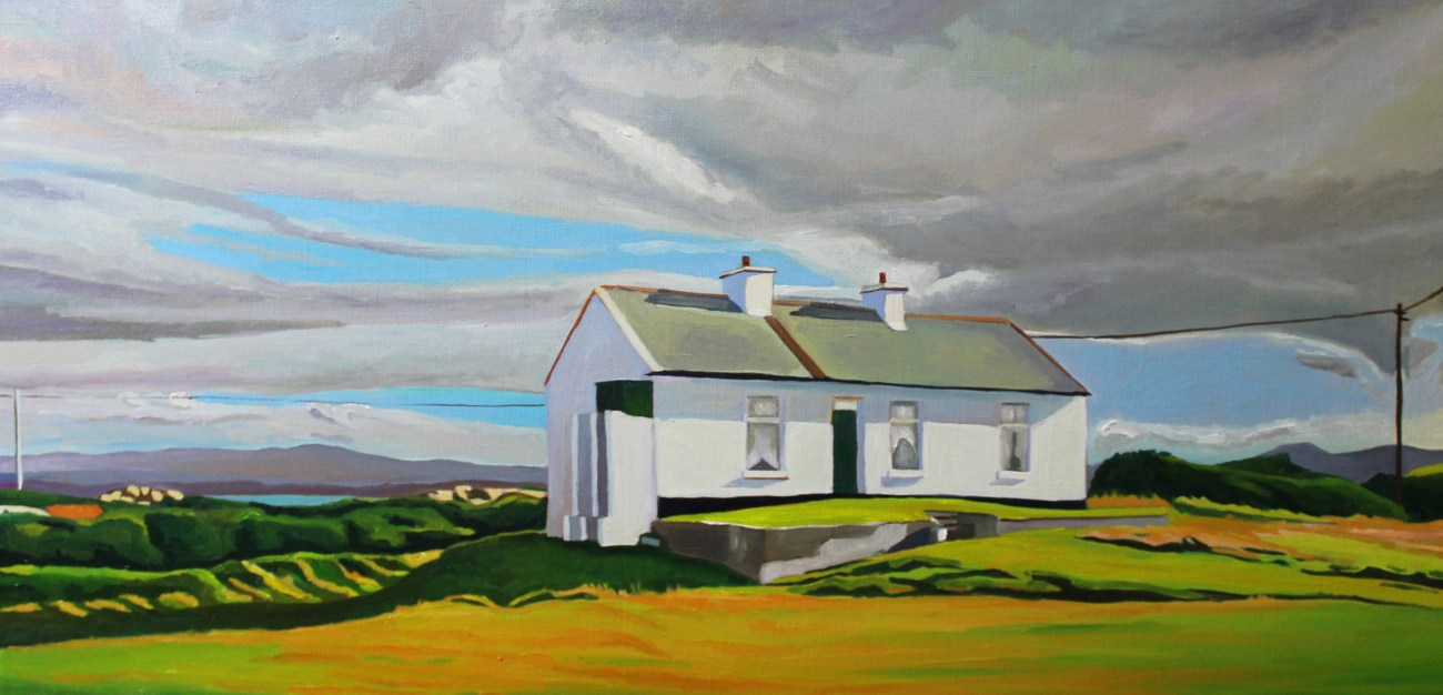 Painting of Arranmore, Donegal.