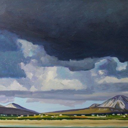 Painting of Donegal, Errigal, Ireland