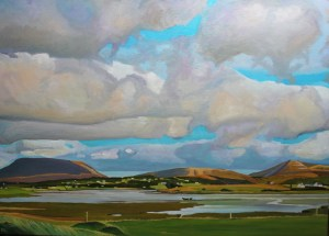 Painting of donegal landscape_Emma Cownie