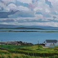 Painting of Donegal Island of Inishkeeragh
