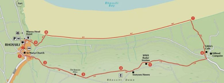 Rhossili Walk mapo 2.JPG