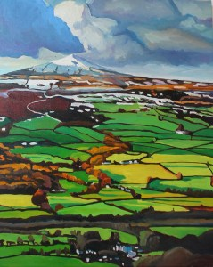 Painting of Sugar Loaf Mountain