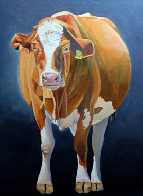 Cow Standing by artist Emma Cownie
