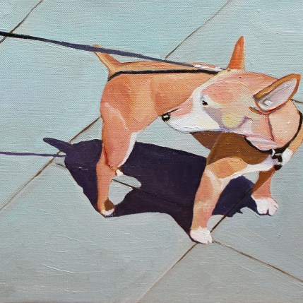 Painting of Small Dog for sale