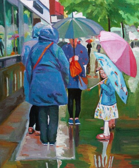 Undercover - a rainy day in Wales.