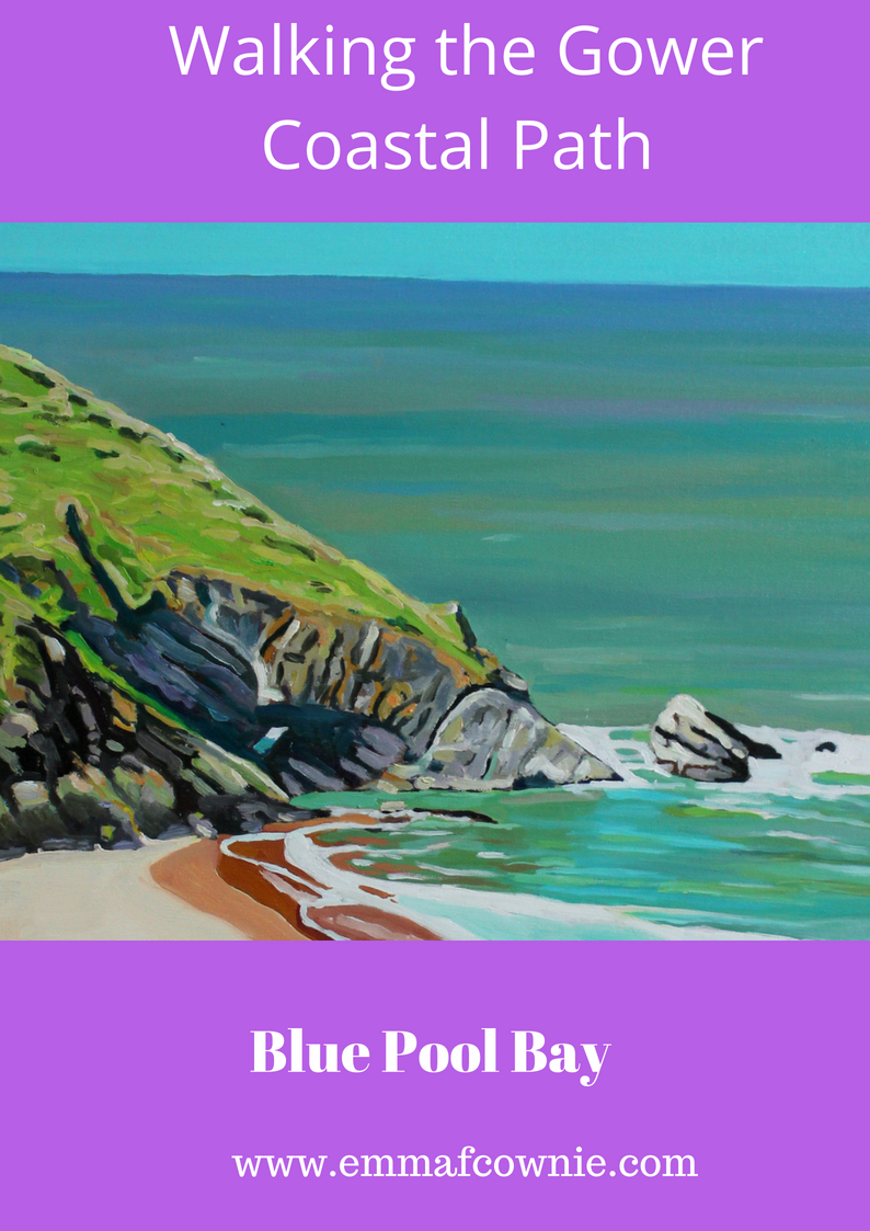 Gower Coastal Walk: Blue Pool Bay
