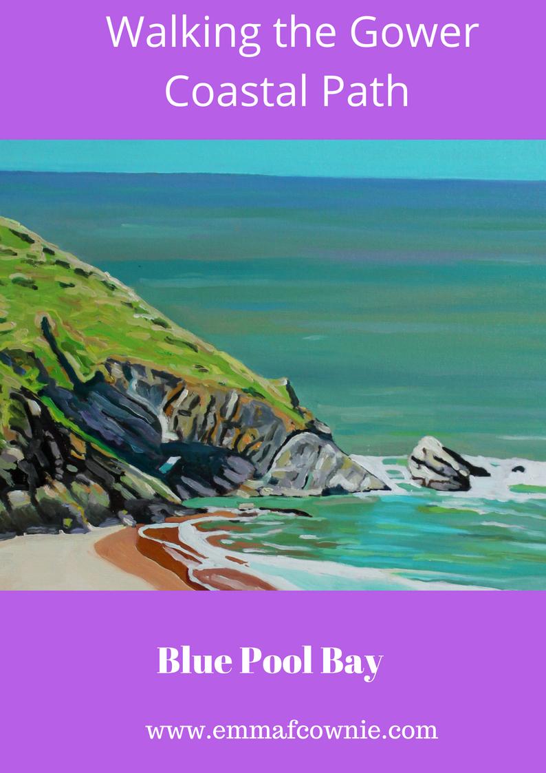 Gower Coastal Walk: Blue Pool Bay