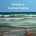 Paintings as Emotional Creations