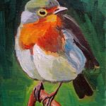 Perky Robin