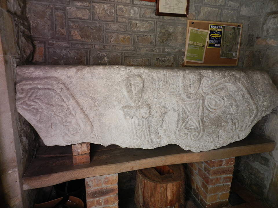 Leper Stone, Llanridian Church