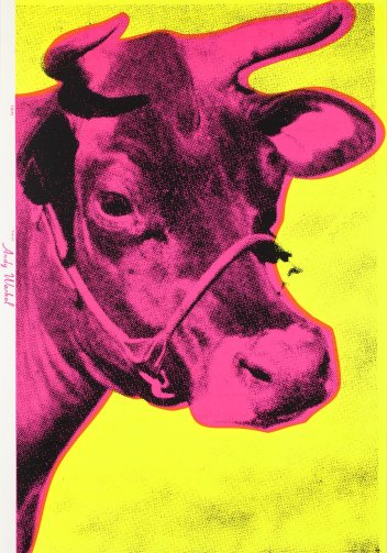 Andy Warhol - Cow Pink