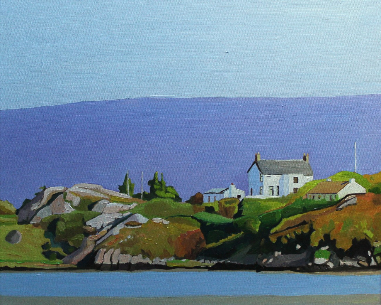 Oil painting of West Donegal Landscape