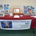 Emma Cownie Art stall Swansea