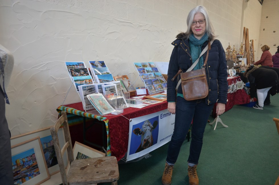 Emma Cownie at Clyne Christmas Market