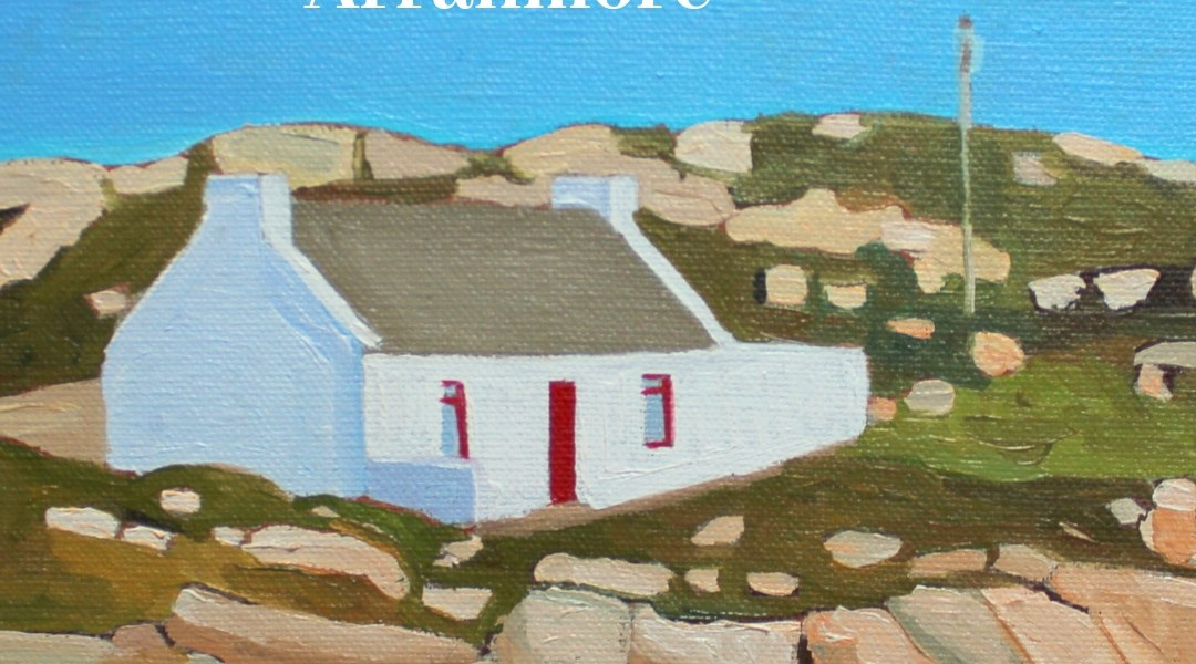 Painting of cottage near Arranmore, West Donegal, Ireland