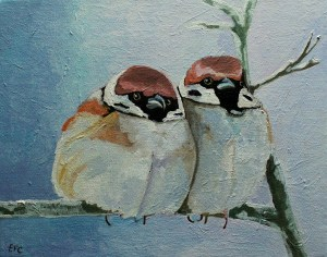 Sparrows Christmas Cards