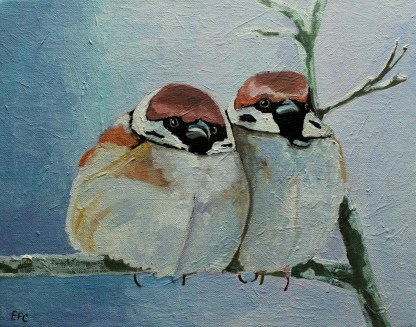 Sparrows Christmas Cards