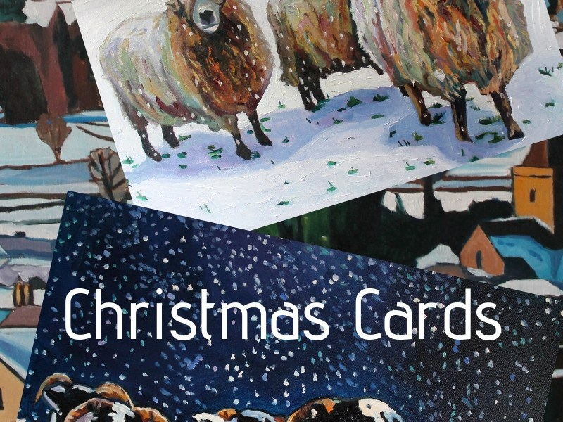 Art Christmas Cards for sale